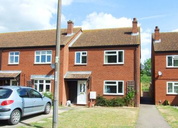 Thumbnail 3 bed end terrace house to rent in Woolley Close, Brampton, Huntingdon