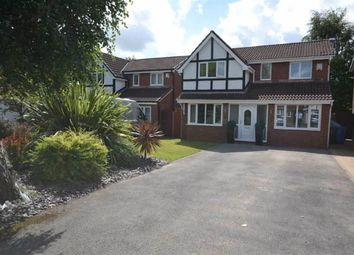 Thumbnail 4 bed detached house for sale in Bicknell Close, Great Sankey, Warrington