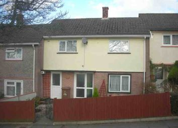 Thumbnail 2 bed terraced house to rent in Budshead Road, Crownhill, Plymouth
