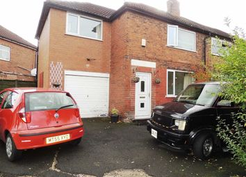 Thumbnail 3 bed semi-detached house for sale in Finsbury Road, Reddish, Stockport