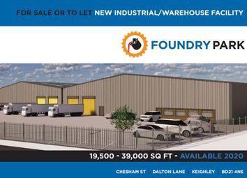 Thumbnail Industrial for sale in Chesham Street, Dalton Lane, Keighley