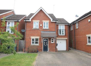 Thumbnail 4 bed detached house for sale in Merlin Close, Brownhills, Walsall