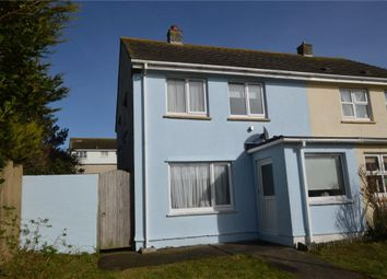 Thumbnail 3 bed end terrace house for sale in Chynance Drive, Newquay, Cornwall