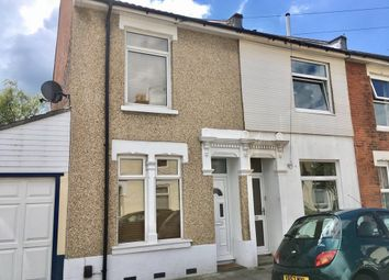 Thumbnail 2 bed end terrace house for sale in Landguard Road, Southsea