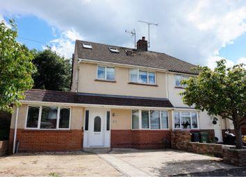 Thumbnail 4 bed semi-detached house for sale in Underwood Avenue, Aldershot