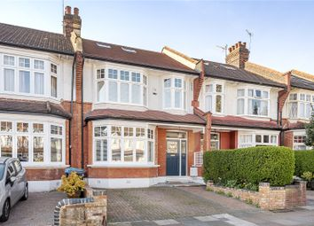 Thumbnail 5 bed terraced house for sale in Caversham Avenue, Palmers Green, London