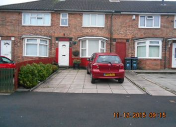 Thumbnail 3 bed terraced house for sale in Foxwell Road, Bordesley Green