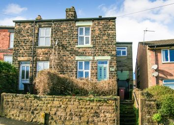 3 bed semi-detached house for sale in Hallowes Lane, Dronfield, Derbyshire S18
