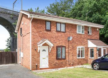 Thumbnail 2 bed semi-detached house for sale in The Downs, Wolverhampton