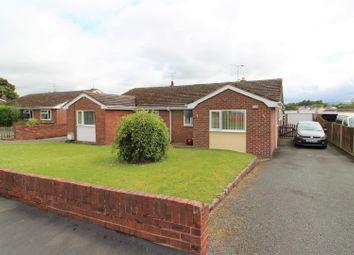 Thumbnail 3 bed semi-detached bungalow for sale in Maxwell Drive, Leeswood, Mold
