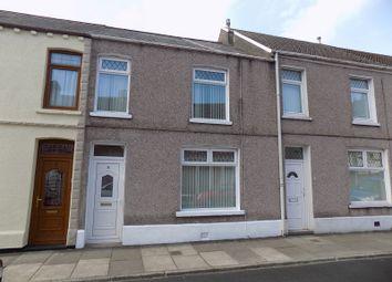 Thumbnail 4 bed terraced house for sale in Joseph Street, Velindre, Port Talbot, Neath Port Talbot.