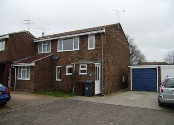 Thumbnail 3 bed semi-detached house to rent in Aster Court, Springfield, Chelmsford