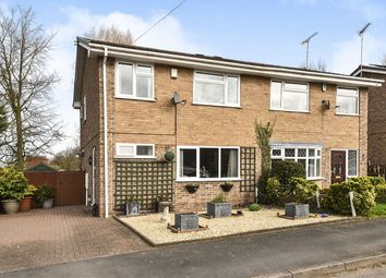 Thumbnail 3 bedroom semi-detached house for sale in Meadow Close, Repton, Derby