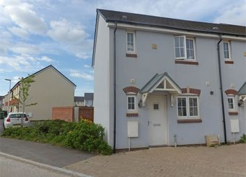 Thumbnail 2 bed end terrace house for sale in Sunningdale Drive, Hubberston, Milford Haven, Pembrokeshire