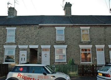 Thumbnail 2 bedroom terraced house to rent in Holdich Street, Peterborough