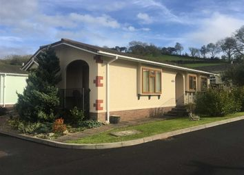 Thumbnail 2 bed mobile/park home for sale in Towy View Park, Capel Dewi Road, Llangunnor