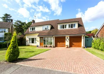 Thumbnail 4 bed detached house for sale in Hollycombe Close, Liphook, Hampshire