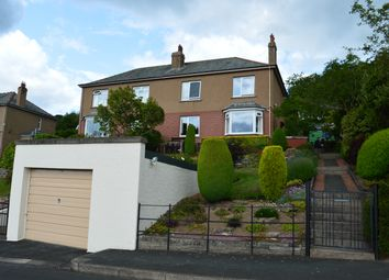 Thumbnail 4 bed semi-detached house for sale in Glenfield Terrace, Galashiels