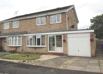 Thumbnail 3 bed semi-detached house for sale in Oakley Drive, Eastfield Green, Cramlington