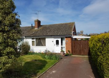 Thumbnail 2 bed semi-detached bungalow for sale in Chatsworth Crescent, Trimley St. Mary, Felixstowe