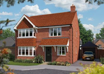 "Thumbnail 4 bed detached house for sale in ""The Canterbury"" at North End Road, Steeple Claydon, Buckingham"