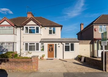 Thumbnail 3 bed semi-detached house for sale in Long Lane, Hillingdon, Uxbridge