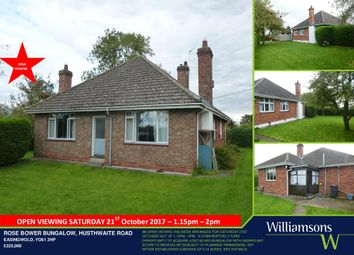 Thumbnail 3 bed detached bungalow for sale in Husthwaite Road, Easingwold, York