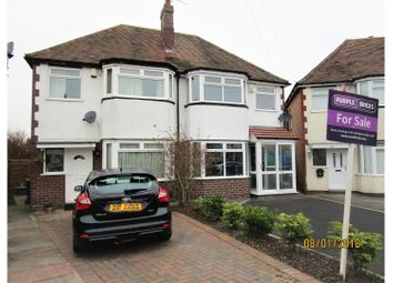 Thumbnail 3 bed semi-detached house for sale in Corville Gardens, Birmingham