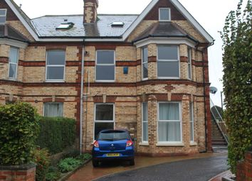 Thumbnail 1 bed flat to rent in Hartley Road, Exmouth