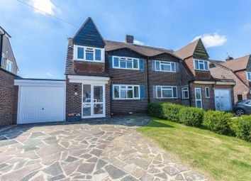 Thumbnail 3 bed semi-detached house for sale in Carew Close, Old Coulsdon, Coulsdon