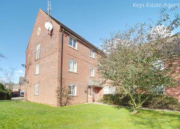 Thumbnail 2 bed flat for sale in Millbrook Gardens, Blythe Bridge, Stoke-On-Trent