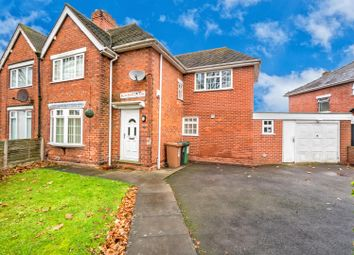 Thumbnail 3 bedroom semi-detached house for sale in Blakenall Lane, Bloxwich, Walsall