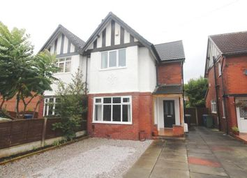 Thumbnail 3 bed semi-detached house for sale in Ladybridge Road, Cheadle Hulme, Cheadle, Cheshire