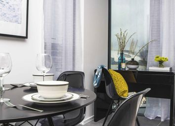 Thumbnail 1 bedroom flat to rent in Lawn House Close Isle Of Dogs, London