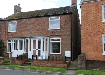 Thumbnail 2 bed semi-detached house to rent in Main Road, Hundleby, Spilsby