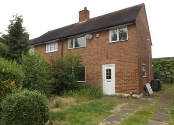 Thumbnail 3 bedroom end terrace house for sale in Withy Grove, Kingshurst, Birmingham, West Midlands