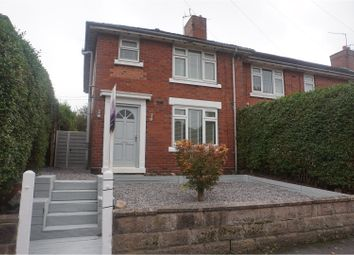 Thumbnail 3 bed town house for sale in Corneville Road, Stoke-On-Trent