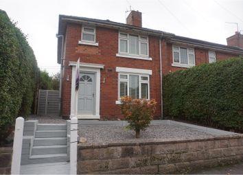 Thumbnail 3 bed town house for sale in Corneville Road, Bucknall, Stoke-On-Trent