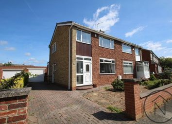 Thumbnail 3 bed semi-detached house for sale in Barton Crescent, Wolviston Court, Billingham