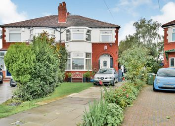 Thumbnail 3 bed semi-detached house for sale in Woodville Drive, Sale, Greater Manchester