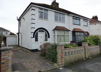 Thumbnail 3 bedroom semi-detached house to rent in West Drive West, Thornton-Cleveleys