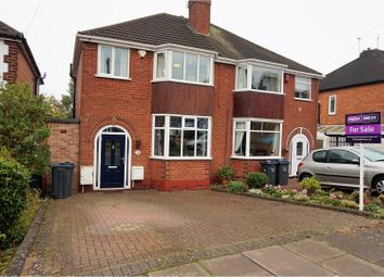 Thumbnail 3 bedroom semi-detached house for sale in Glyn Farm Road, Birmingham
