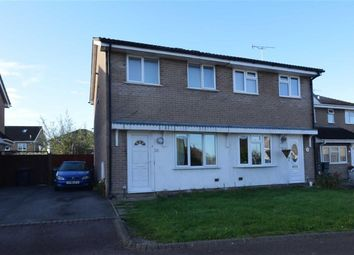 Thumbnail 2 bed semi-detached house for sale in Neptune Close, Abbeymead, Gloucester