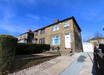 Thumbnail 3 bed semi-detached house for sale in Weston Avenue, Queensbury, Bradford, West Yorkshire