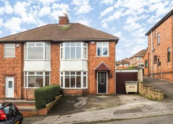 Thumbnail 3 bed semi-detached house for sale in Roslyn Avenue, Gedling, Nottingham, Nottinghamshire