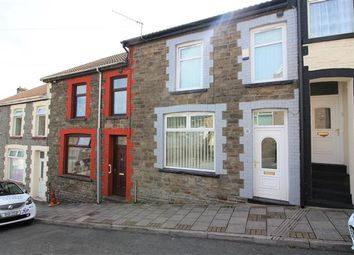 Thumbnail 3 bed terraced house for sale in Trinity Road, Tonypandy