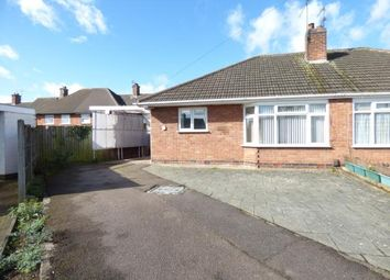 Thumbnail 2 bed bungalow for sale in Chestnut Avenue, Oadby, Leicester, Leicestershire