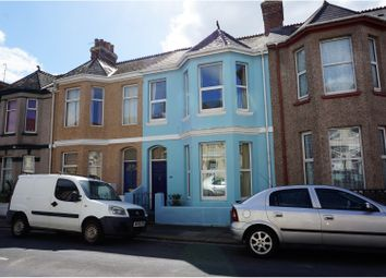 Thumbnail 4 bedroom terraced house for sale in St. Leonards Road, Plymouth