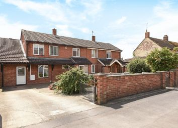 Thumbnail 3 bed semi-detached house for sale in Millfield Avenue, Marsh Gibbon, Bicester