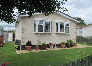 Thumbnail 2 bed mobile/park home for sale in College Close (Ref 5638), Longload, Langport, Somerset
